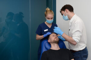 Consultation before injectable treatment